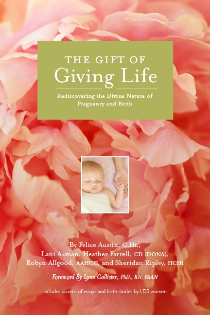 Gift of Giving Life Book Button